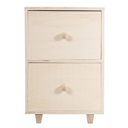 Rayher Hobby Commode sur Pieds, Divers, Bois, 1,65x 0.93x 2.45cm
