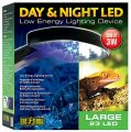 Exoterra Éclairage pour Reptiles Galerie Night Day 24 LED